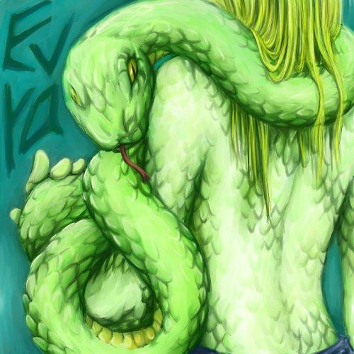 он змея она змея: