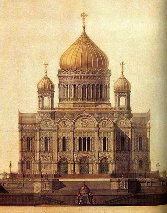 Работы по возведению Храма