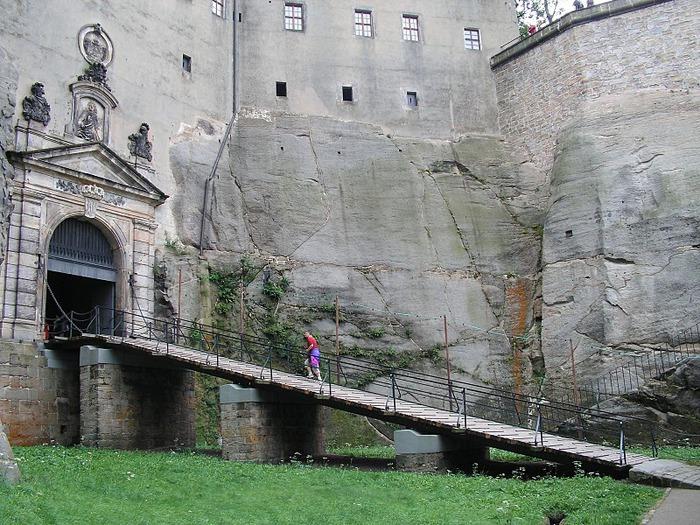 Крепость Кёнигштайн 19771