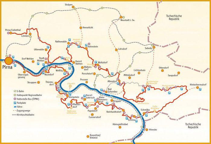 Саксонская Швейцария 84124