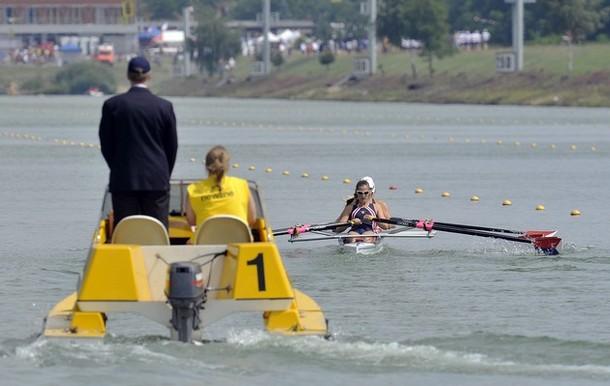 FISA Чемпионат мира по академической гребле в Racice, Чешская Республика, 5 августа 2010 года.