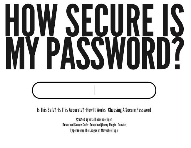 ак правильно выбрать пароль