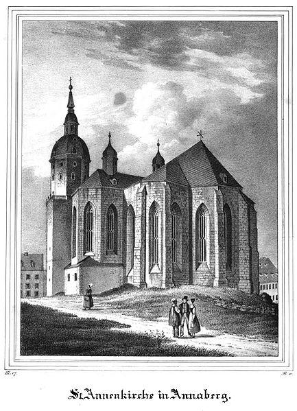 Готическая церковь св. Анны в Аннаберг-Буххольце 44548