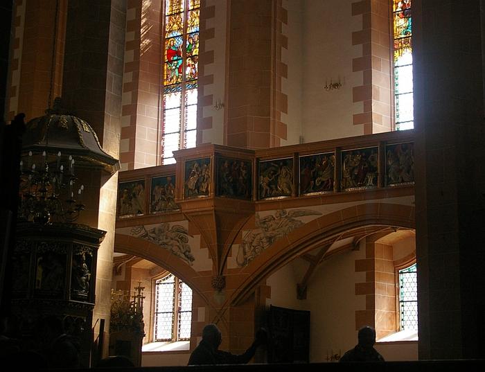 Готическая церковь св. Анны в Аннаберг-Буххольце 89124