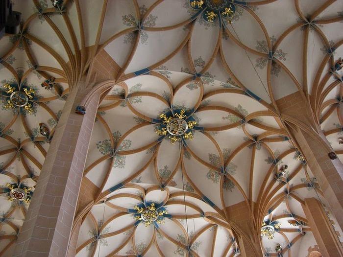 Готическая церковь св. Анны в Аннаберг-Буххольце 54763
