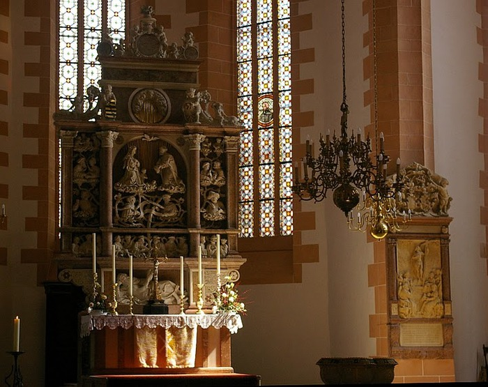Готическая церковь св. Анны в Аннаберг-Буххольце 98570