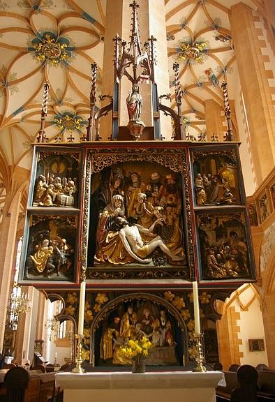 Готическая церковь св. Анны в Аннаберг-Буххольце 21763