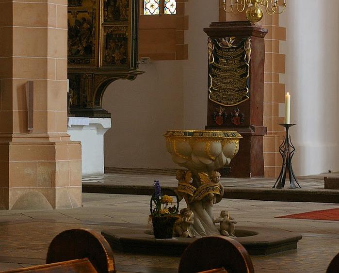 Готическая церковь св. Анны в Аннаберг-Буххольце 24150