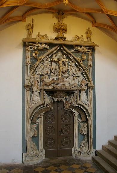 Готическая церковь св. Анны в Аннаберг-Буххольце 13700