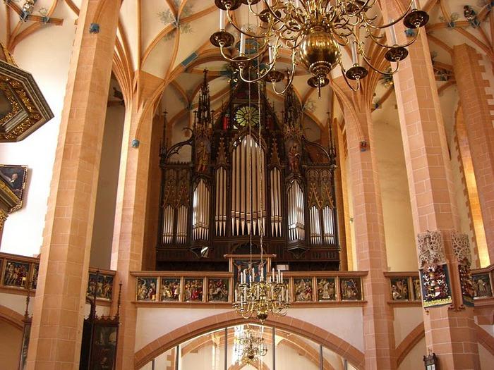 Готическая церковь св. Анны в Аннаберг-Буххольце 48110