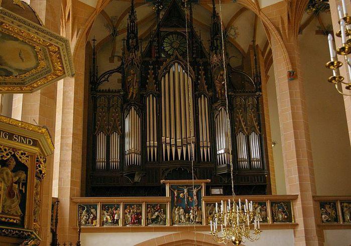 Готическая церковь св. Анны в Аннаберг-Буххольце 97426
