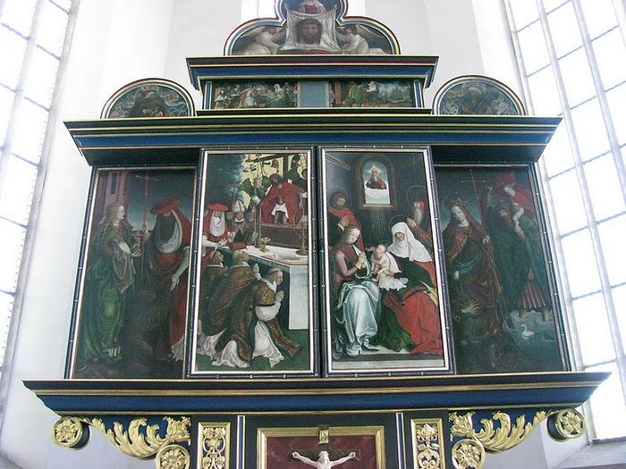 Готическая церковь св. Анны в Аннаберг-Буххольце 41542