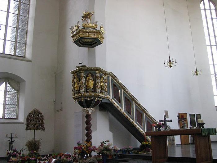 Готическая церковь св. Анны в Аннаберг-Буххольце 71276
