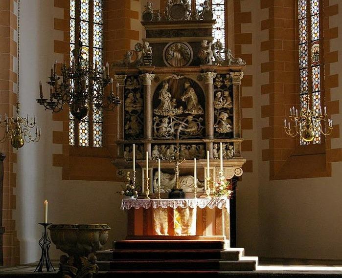 Готическая церковь св. Анны в Аннаберг-Буххольце 33327