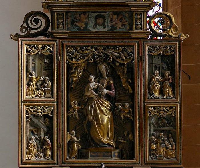 Готическая церковь св. Анны в Аннаберг-Буххольце 87203