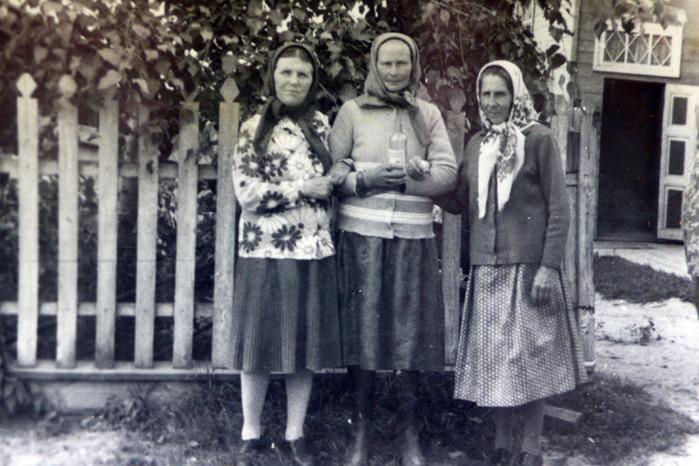деревня 70-х годов