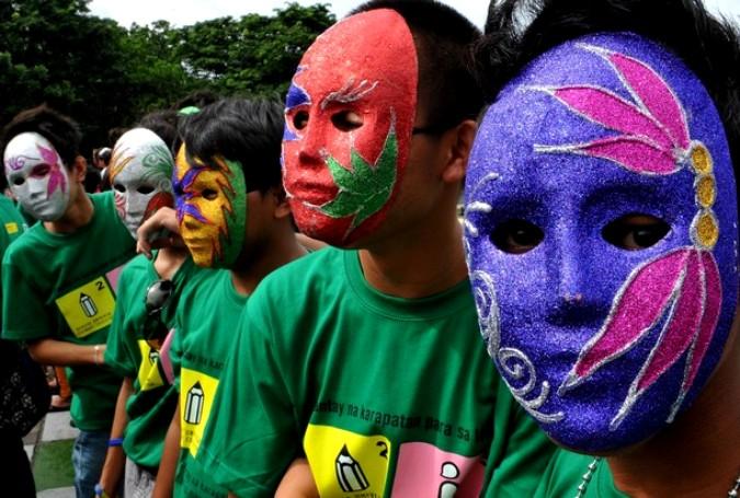 16-й Международный день коренных народов мира в Маниле, 8 августа 2010 года.