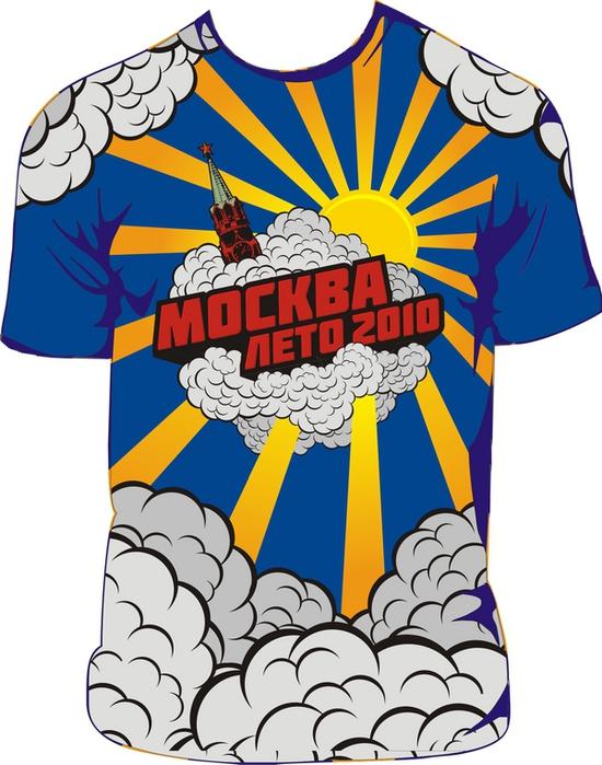 футболка дымное московское лето 2010
