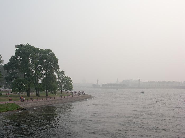 смог, лесные пожары, питер
