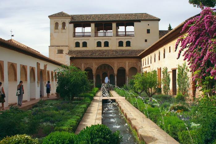Альгамбра - жемчужина Андалузии 66956