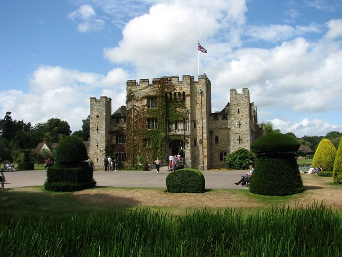 Замок Хивер-кастл - Hever Castle 90928