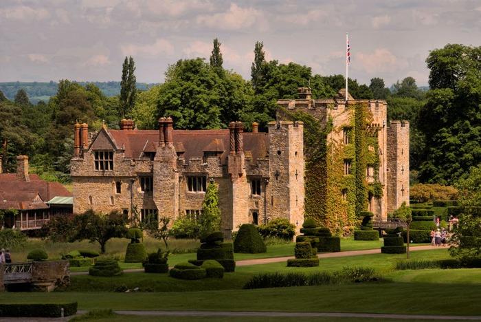 Замок Хивер-кастл - Hever Castle 42092