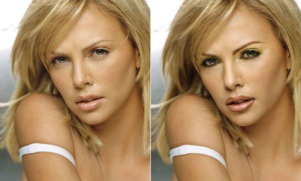 Фотографии российских знаменитостей, обработанные в Photoshop