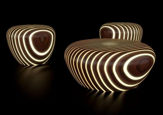 """""""Светящееся дерево"""" от итальянского дизайнера Giancarlo Zema"""
