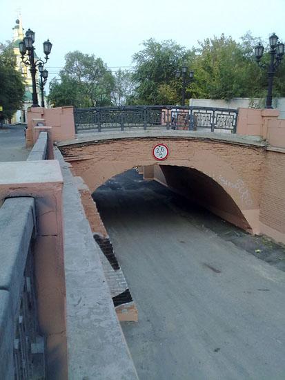 Каменный мост Воронеж