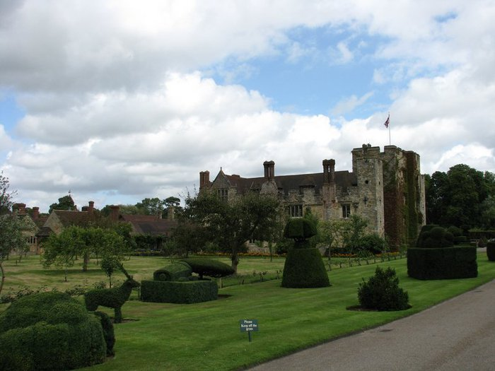 Замок Хивер-кастл - Hever Castle 78819