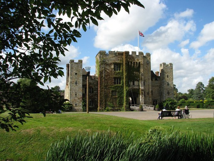 Замок Хивер-кастл - Hever Castle 26415