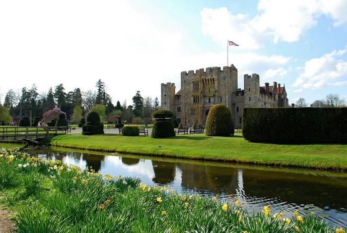 Замок Хивер-кастл - Hever Castle 35102