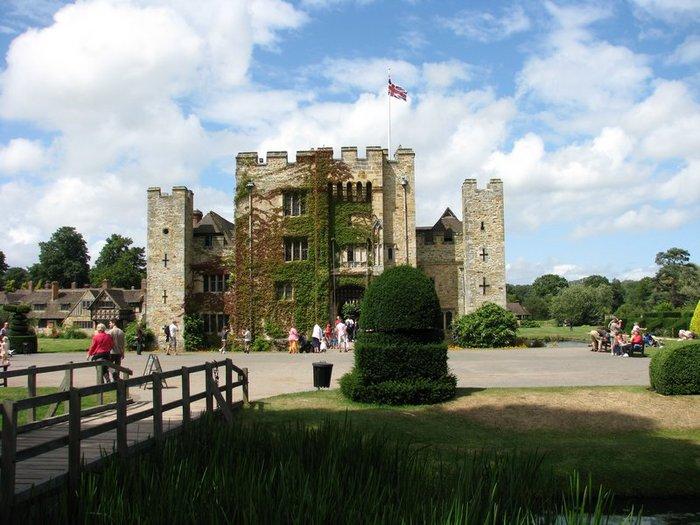 Замок Хивер-кастл - Hever Castle 58794