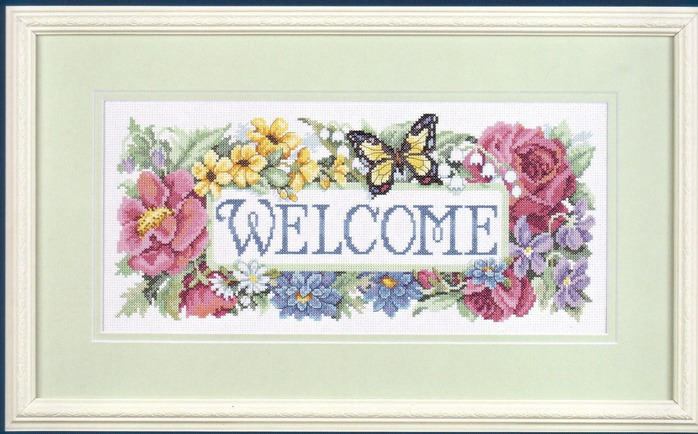 crafts for home and more: embroidered pictures, cross stitch kit
