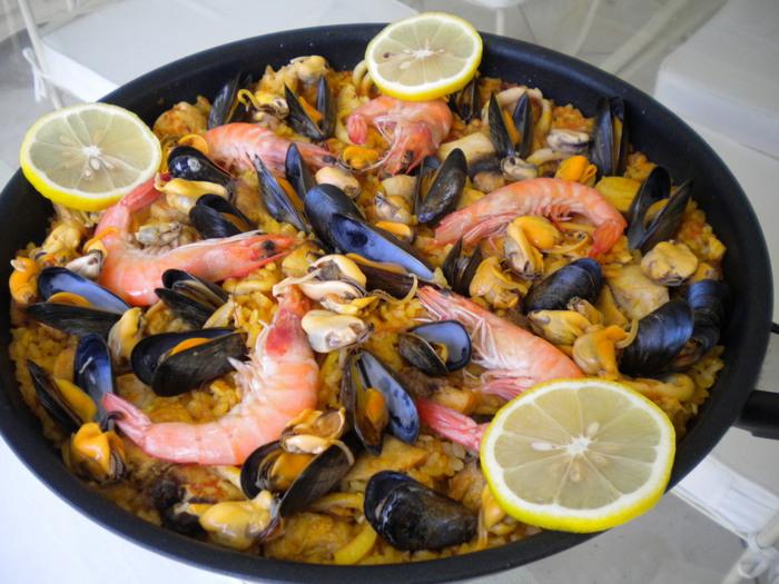 Испанское блюдо