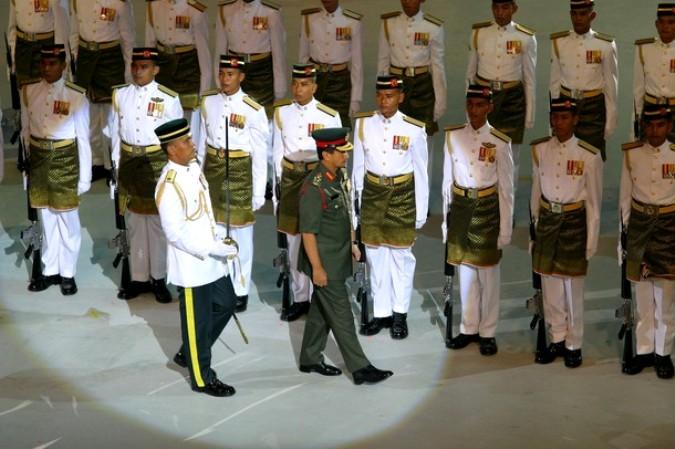 Малайзия ярко отметила День Независимости, Куала-Лумпуре, 31 августа 2010 года.