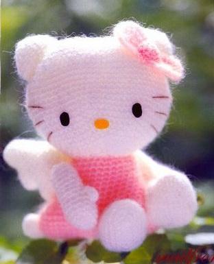 Амигуруми «Hello Kitty-ангел»