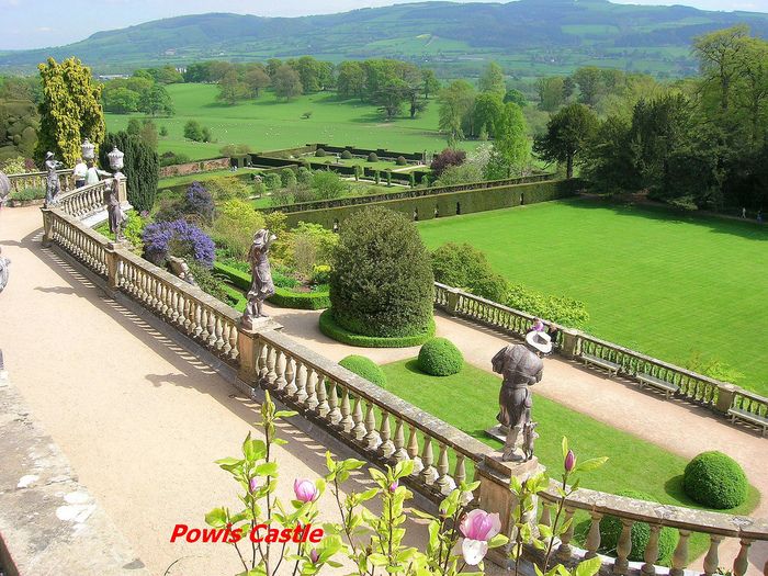 Замок Powis Castle, графство Поуис. 69843