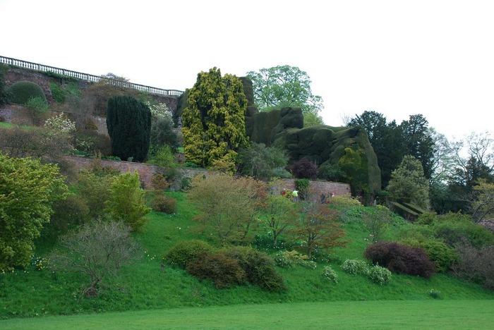 Замок Powis Castle, графство Поуис. 69520