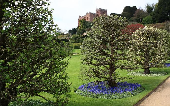 Замок Powis Castle, графство Поуис. 54186