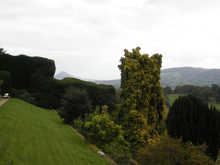 Замок Powis Castle, графство Поуис. 87767