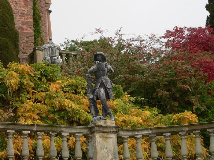 Замок Powis Castle, графство Поуис. 41912