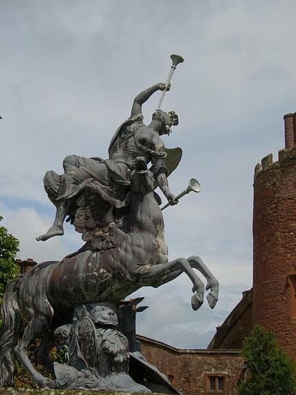 Замок Powis Castle, графство Поуис. 96804