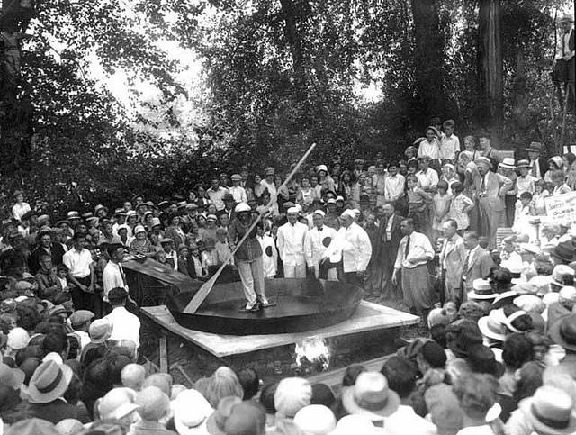 на яичном фестивале 1931 года была приготовлена яишница из 7200 яиц