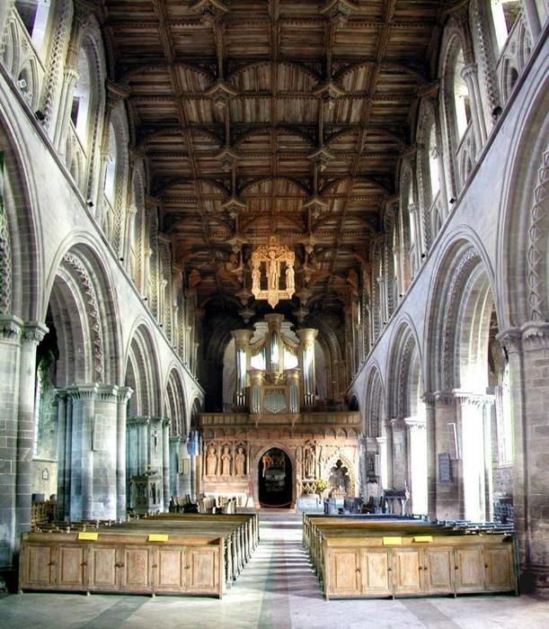 Собор Святого Давида (St David's Cathedral), Уэльс, Англия 48650