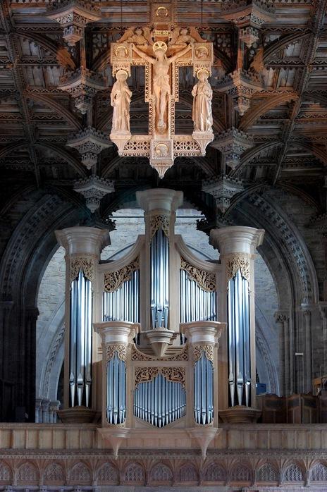 Собор Святого Давида (St David's Cathedral), Уэльс, Англия 16298