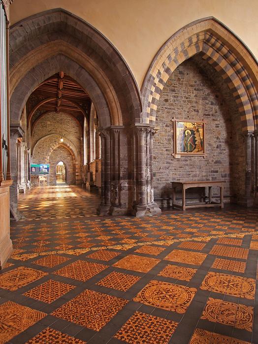 Собор Святого Давида (St David's Cathedral), Уэльс, Англия 48070