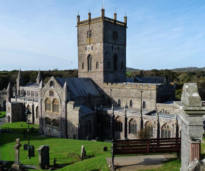 Собор Святого Давида (St David's Cathedral), Уэльс, Англия 86403