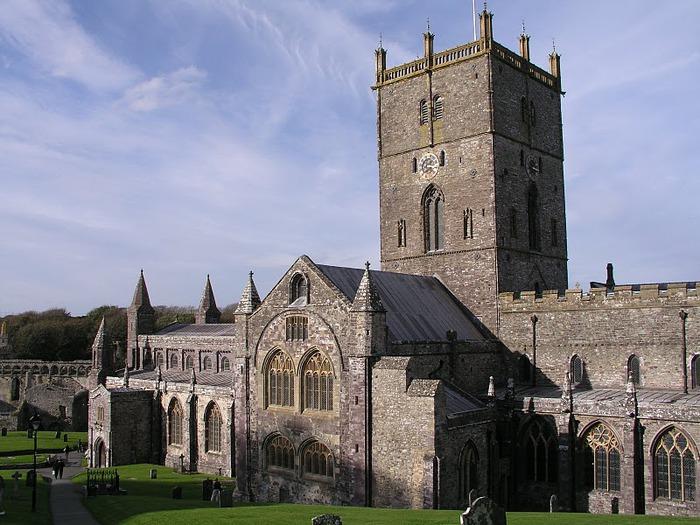 Собор Святого Давида (St David's Cathedral), Уэльс, Англия 51983