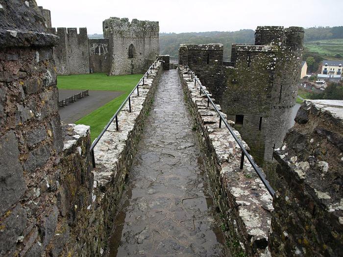 Замок Пембрук в Уэльсе 98911
